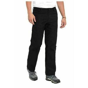 Eddie Bauer Fleece Lined Tech Hiking Stretch Pants Black 32x32